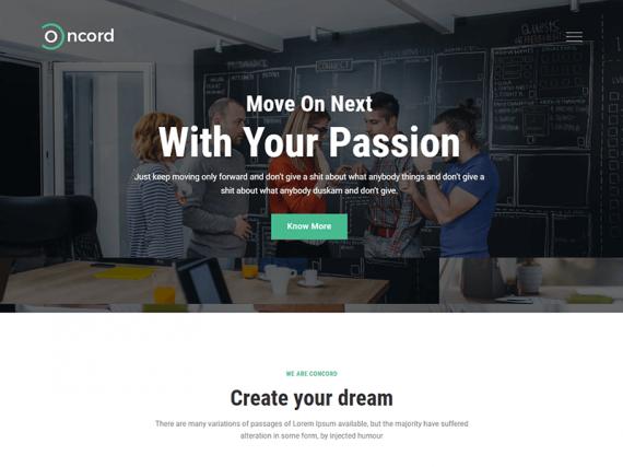 Concord – Multipurpose Business HTML Template