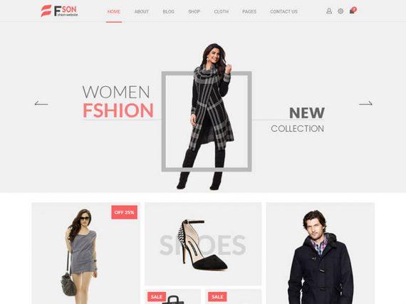 Fson - Fashion eCommerce HTML Template