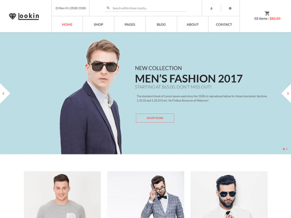 Lookin - Fashion eCommerce HTML Template