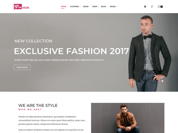 The Style - Fashion Template