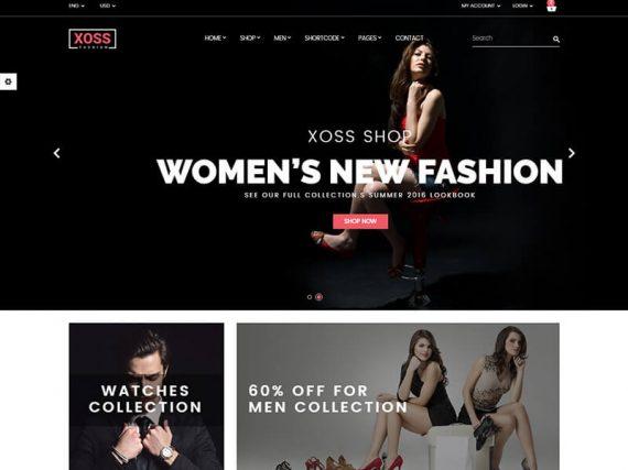 Xoss - Fashion eCommerce HTML Template