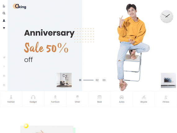 Dking - Multipurpose eCommerce HTML Template