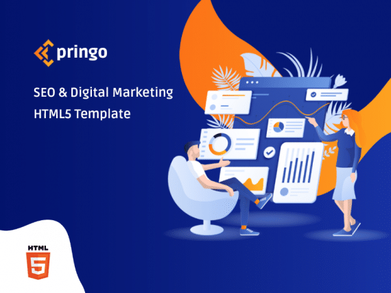 Pringo - Digital Marketing Bootstrap 5 Template